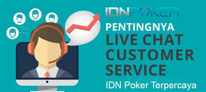 customer service IDNPoker online